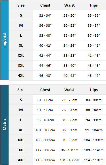 Aropec Mens Tri Suits 19 Mens Size Chart