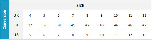 Billabong Mens Footwear 19 0 Size Chart