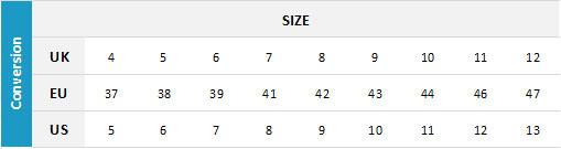 Billabong Mens Footwear 19 0 Size Chart
