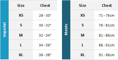 Billabong Womens Rash Vest 19 Womens Size Chart