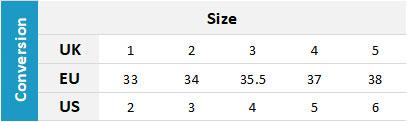 Crewsaver Junior Footwear 19 0 Size Chart