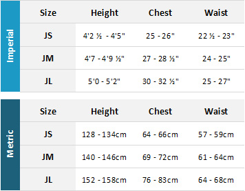 Gill Junior Drysuits 19 Mens Size Chart