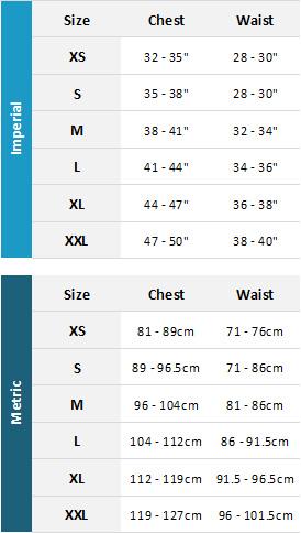 Gul Mens Marine 19 0 Size Chart