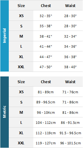 Gul Mens Marine 19 Mens Size Chart