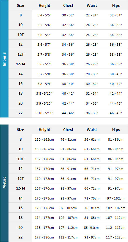 Gul Womens Wetsuits 19 0 Size Chart