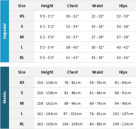 Henri Lloyd Womens Marine Garments 19 Womens Size Chart