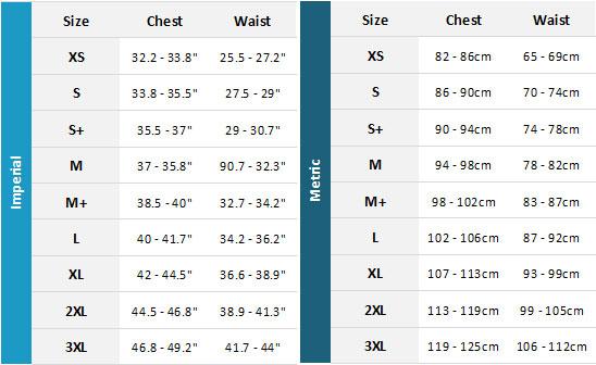 Jobe Neoprene Impact Vest Womens 19 Womens Size Chart
