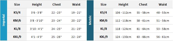 Mystic Kids Wetsuits 21 0 Size Chart