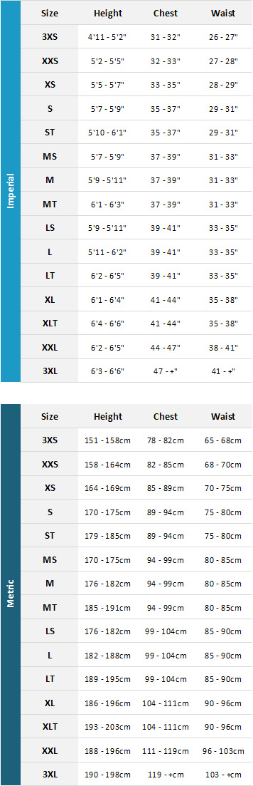 Magic Marine Mens Waterwear 2019 Mens Size Chart