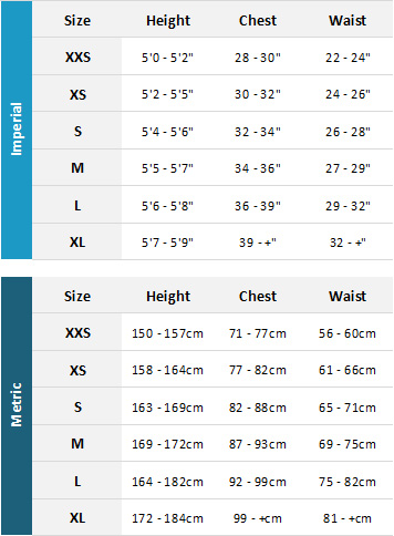 Magic Marine Womens Waterwear 2019 Womens Size Chart