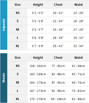 Mystic Womens Wetsuits 19 Mens Size Chart