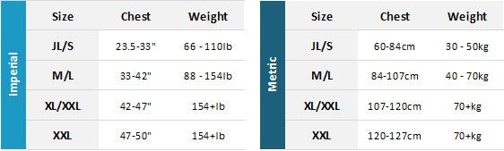 NKE BA 19 Mens Size Chart
