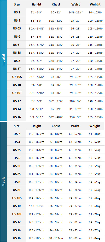 Oneill Womens Wetsuits 19 Womens Size Chart