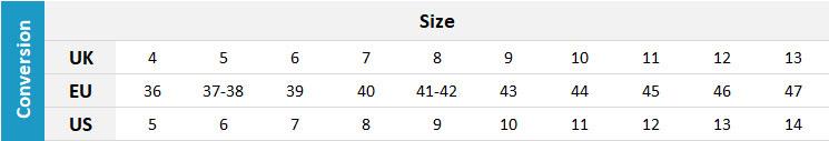 Quiksilver Footwear 19 0 Size Chart