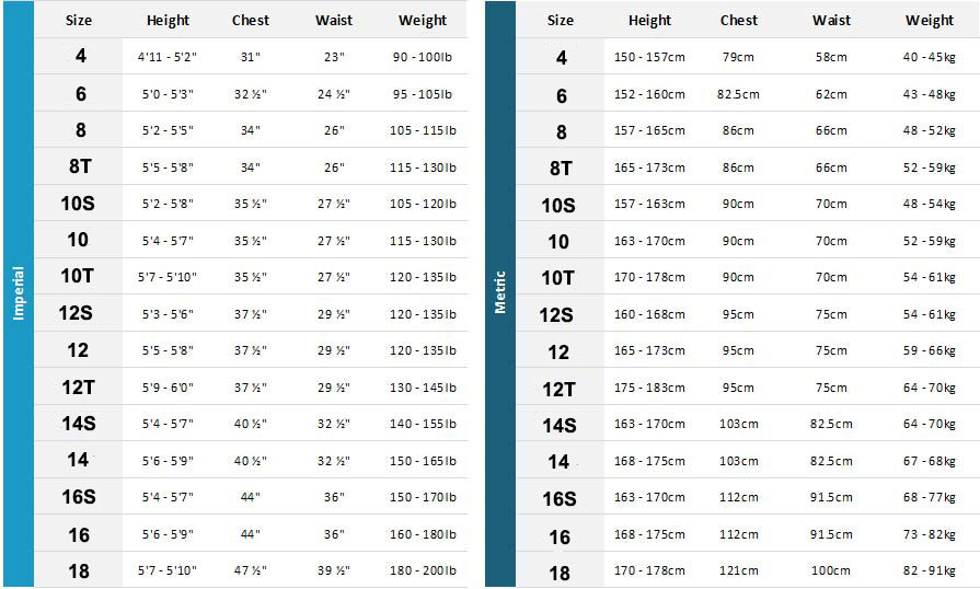 Xcel Womens Wetsuits 20 Womens Size Chart