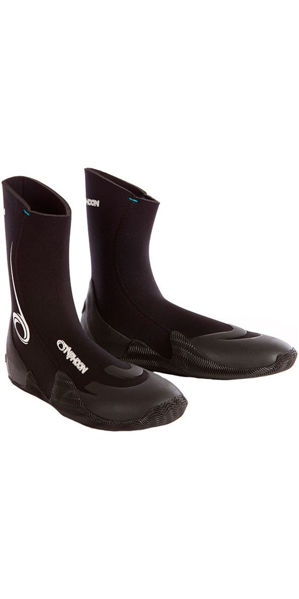 2019 Typhoon Vortex 5mm Wetsuit Boot Round Toe Black 300320