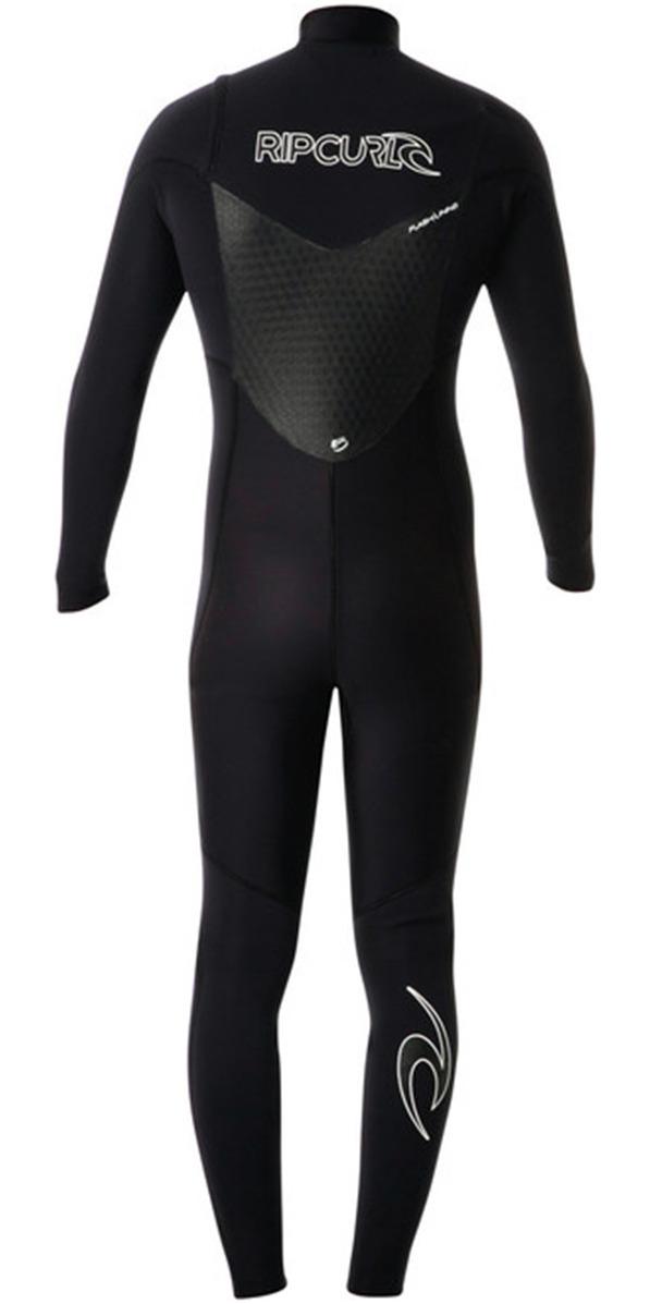 Rip Curl Dawn Patrol 5/3mm GBS Chest Zip Steamer Wetsuit BLACK WSM4GM
