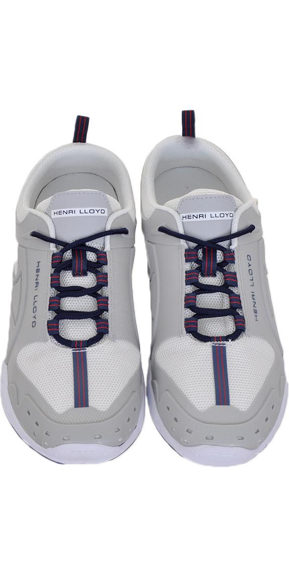 Henri Lloyd Octogrip Mono Performance Deck Shoe WHITE Y94065